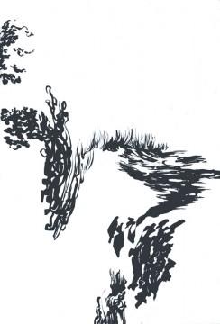Cécile Ravel - dessin Déambulation #3