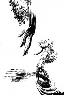Cécile Ravel - dessin Déambulation #6