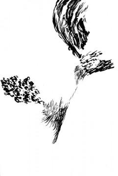 Cécile Ravel - dessin Déambulation #7