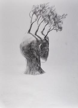Cécile Ravel - dessin Exîle #3