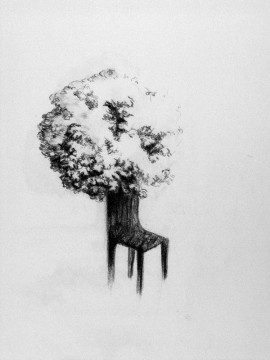 Cécile Ravel - chaise-arbre #1