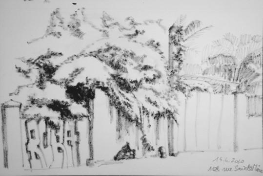 Cécile Ravel - dessin Impression #9
