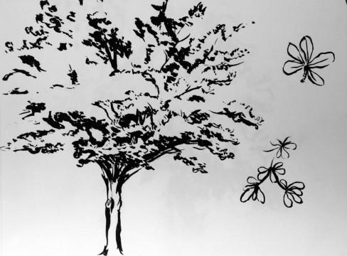 Cécile Ravel - dessin Impression #13