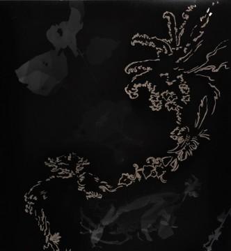 Cécile Ravel - rayogramme - Improvisation empreinte #24