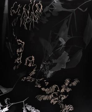 Cécile Ravel - rayogramme - Improvisation empreinte #25