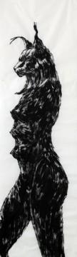 Cécile Ravel - dessin Harde-Lynx